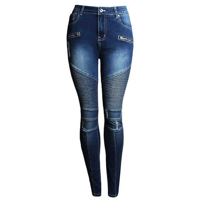 r High Waist  Denim Patchwork Boyfriend Jeans
