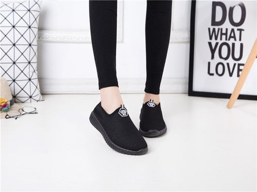 Trend Net Flat Breathable Espadrilles Lazy Canvas Shoes