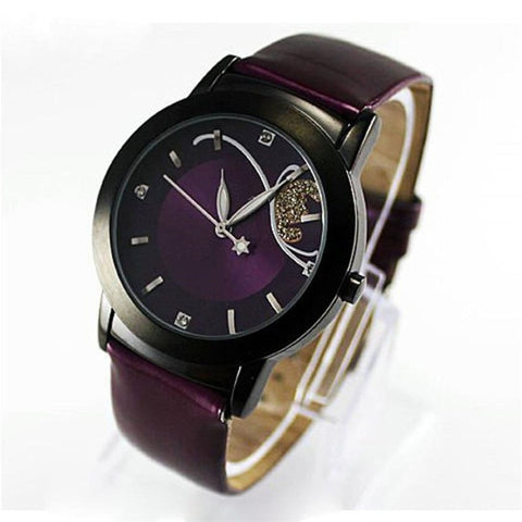 Luxury Casual Clock Lady Diamond Quartz Wrist Watch