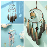 Colorful Wind Chimes Wall Hanging Handmade Dreamcatchers