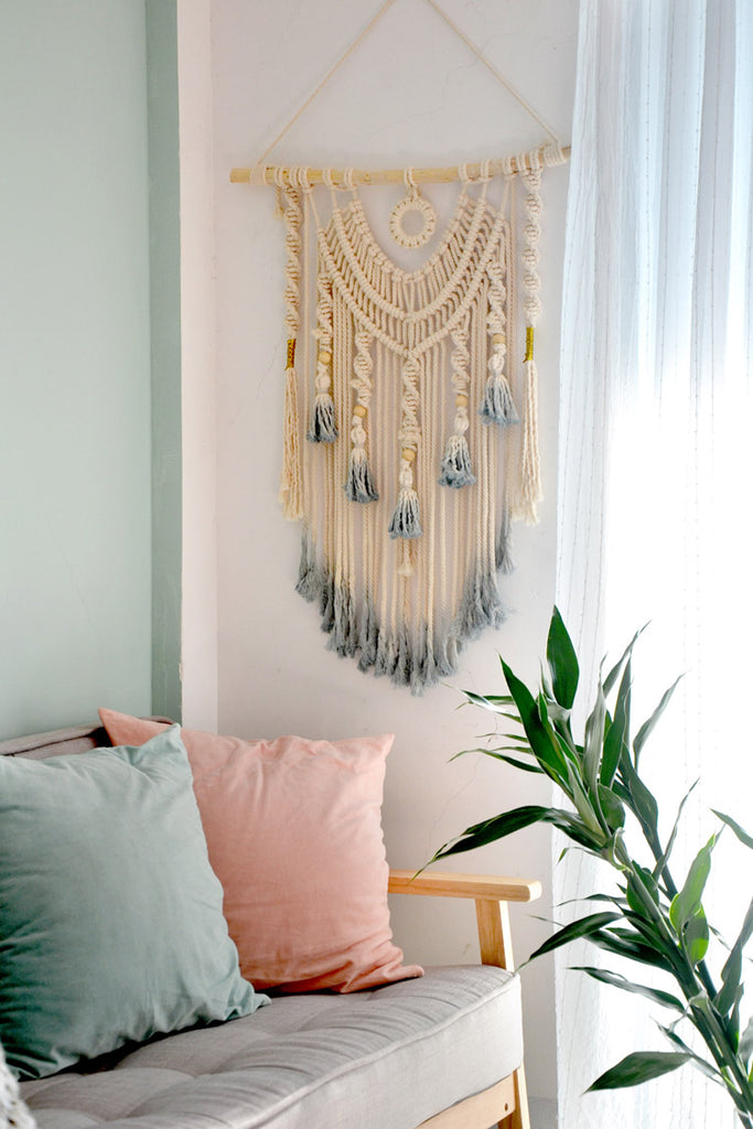 Boho Home Hanging Macrame dream catcher