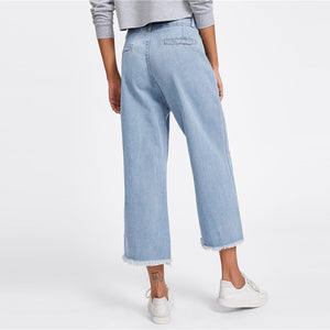 Wide Leg Pants Denim Jeans