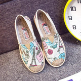 Casual Print Prairie Princess Canvas Shoes