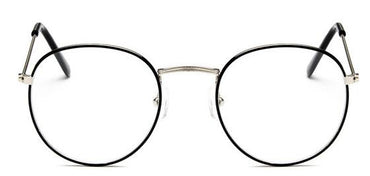 Optical Frames Metal Round Glasses Frame Clear lens Eye Glass