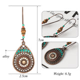 Vintage Boho Ethnic Drip Drop Earrings