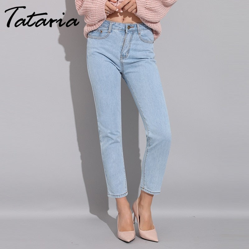 Fashion Women Harem Jeans Winter High Waist Skinny Jeans