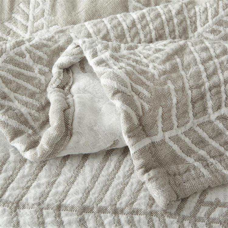 cotton super soft mulberry leaf blanket