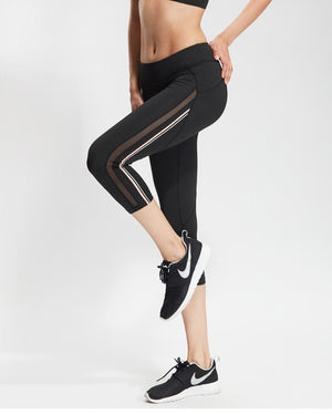 Sport Fitness Breeches Capri Pants Legging