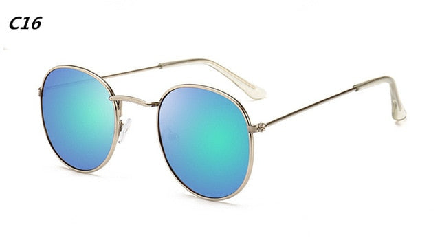 Oval Retro Sun Glass