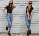 Vintage ladies boyfriend jeans