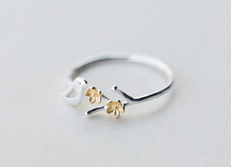 Tree Branches Bird Ring