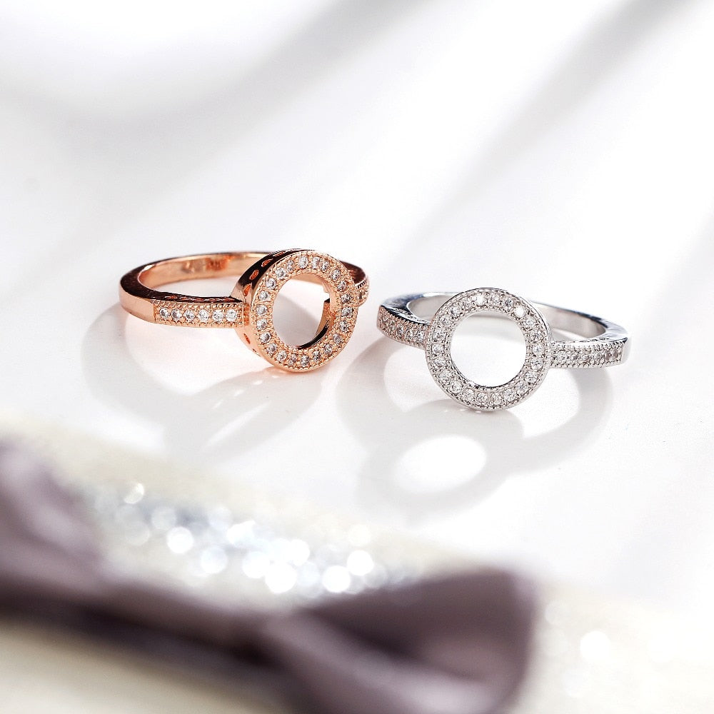 Lover Round Finger Ring