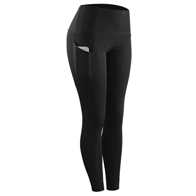 high waist with pocket workout stretch pant