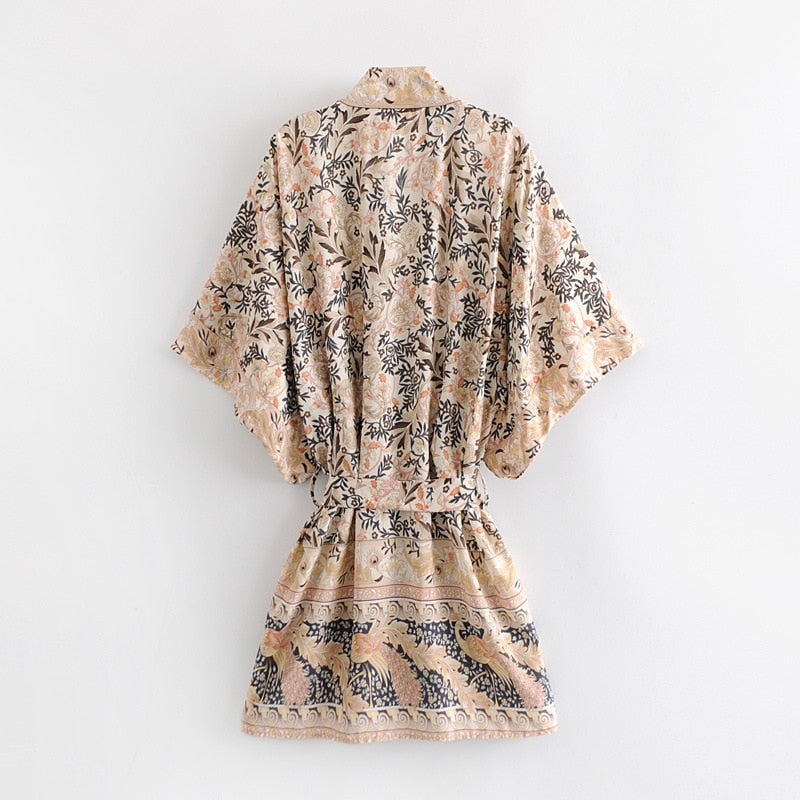Sexy in love Boho Chic Short Kimono Top