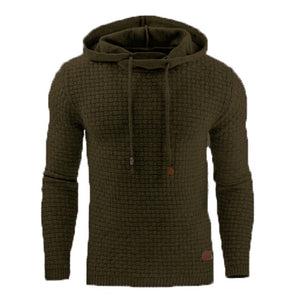 Casual Sportswear Slim Autumn Men's Hoodies
