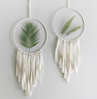 Creative macrame catcher
