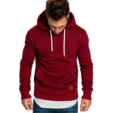 Fashion Color Warm Fleece Coat Men Brand Sweaters
