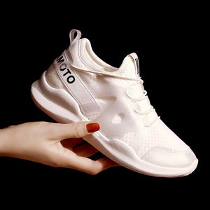 Women Casual  Ladies Lace-up Breathable Lightweight Walking Sneakers