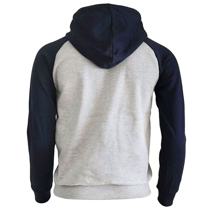 Autumn Winter Fleece Print Streetwear Hoodies