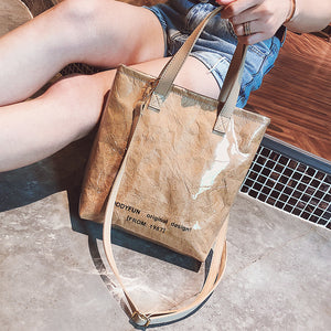 Kraft Transparent Tote Bags