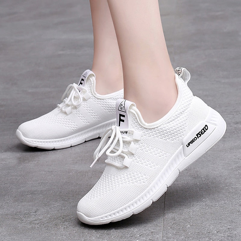Breathable Basket Trainers Vulcanized Shoes Sneakers