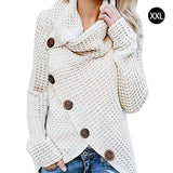 Turtleneck Sweater Thick Warm Knitwear Pullover Sweater