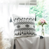 Cotton Knitted Sofa Bed  Cushion Cover or Blanket