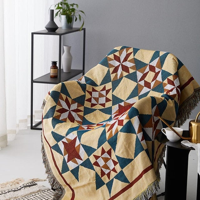 Bohemian Decorative Sofa Blanket