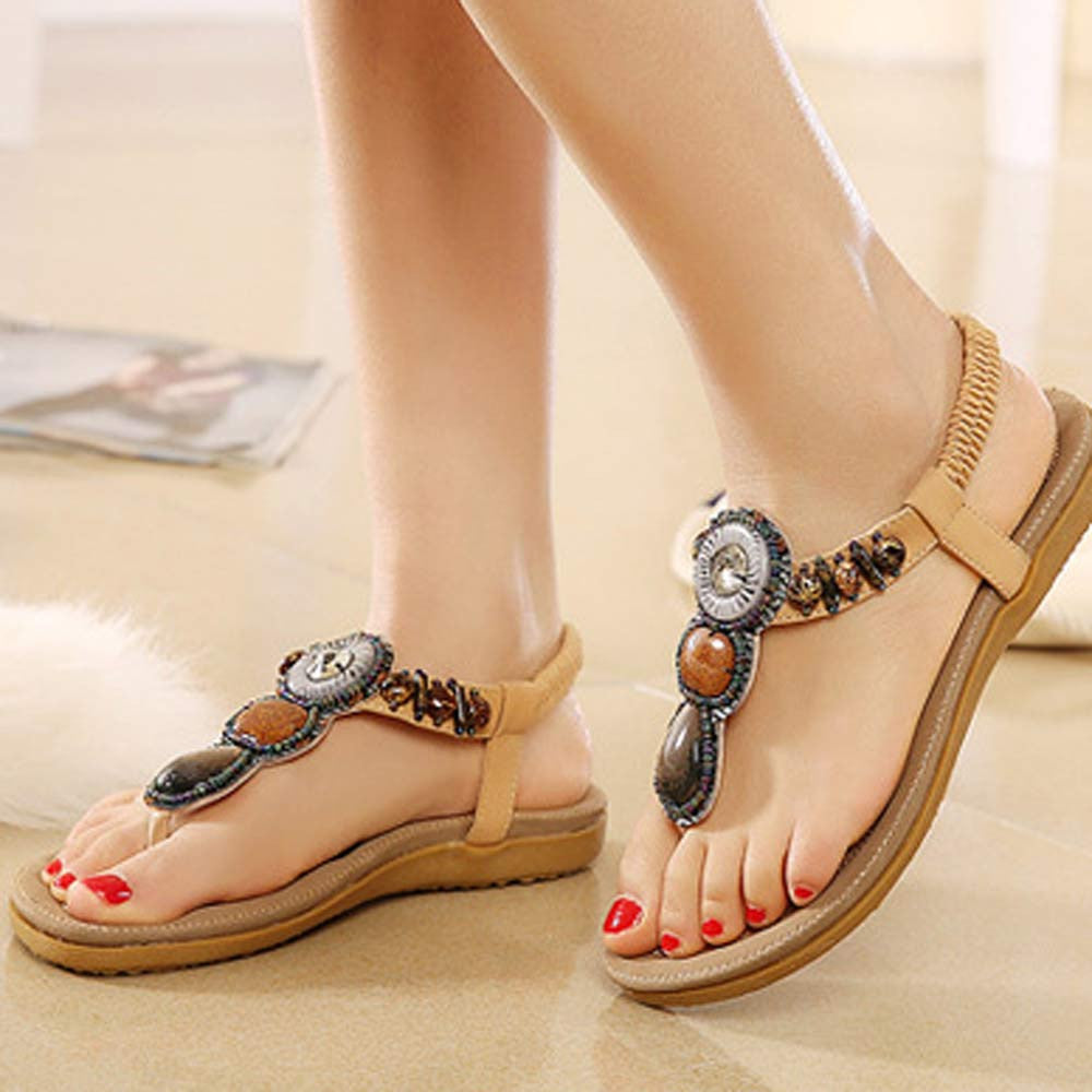 Boho Slippers Shoes Sandals