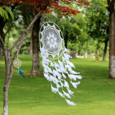 Lace Openwork Wind Chime Ornaments Creative Dream Catcher