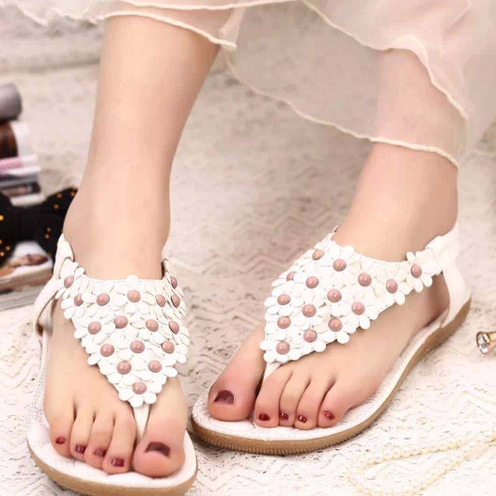 Fashion Sweet Summer Bohemia Sweet Beaded Sandals