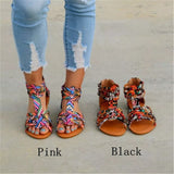 Bohemian Colorful Flat Sandals
