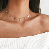 Simple Boho Star Chocker