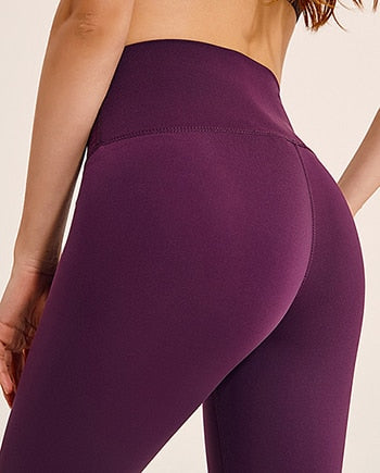 Capris Yoga Elastic Waist Solid Skinny Stretch Leggings