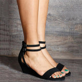 Sandals Rome Wedges  Rivet Sandals Boho Casual Wedges Shoes