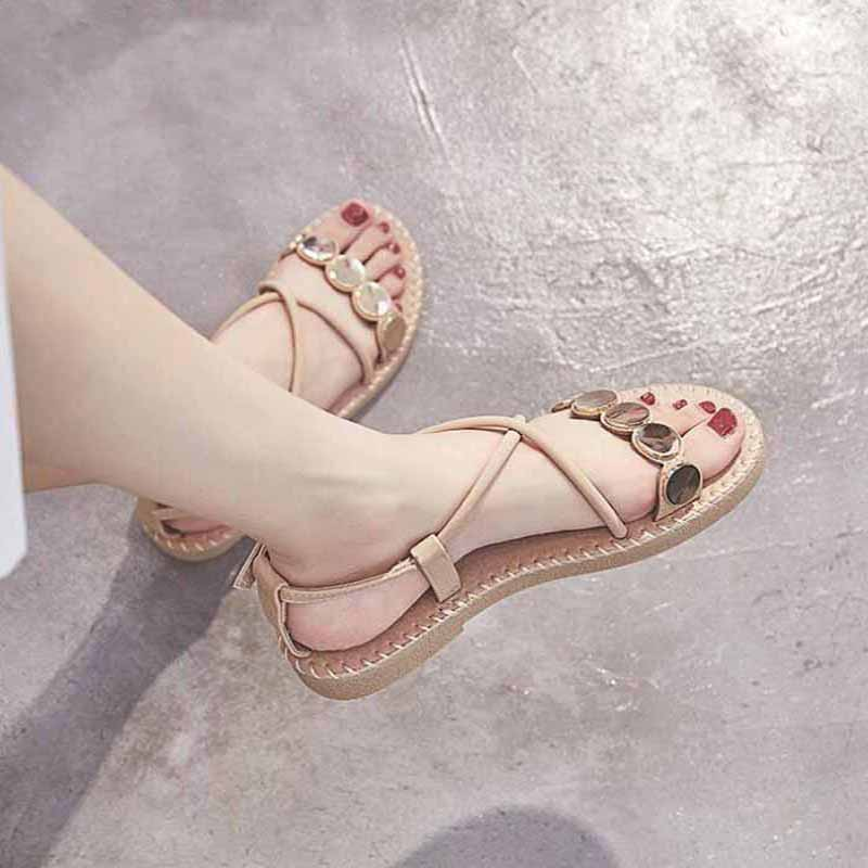 Gladiator Sandals Women Shoes Flat FashionsBoho Beach Sandals