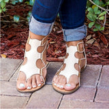 Flip Flops Leather Bandage Flat Shoes Rome Sandals Bohemia Beach Slippers Sandal