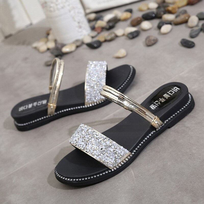 Shoes Bohemia Style Flip Flops Beach Shoes