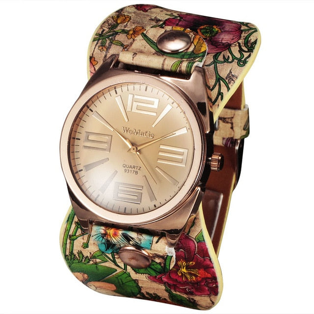 Bohemian Style Fashion Women Dress Watches
