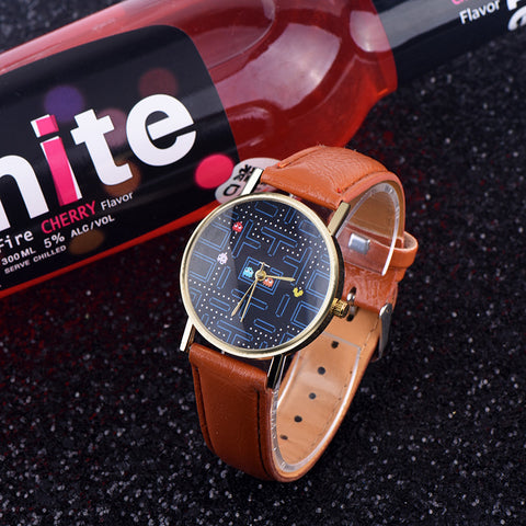 Vintage Fashion Quartz leather Watch