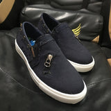 Casual Vulcanize Flat Low-cut -up Trainers  Sneakers