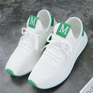 Casual Comfortable Breathable Mesh Flats Platform Sneakers