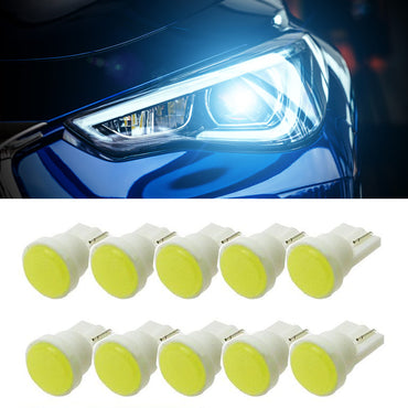 Multi Color T10 LED Bulbs (10 pieces)