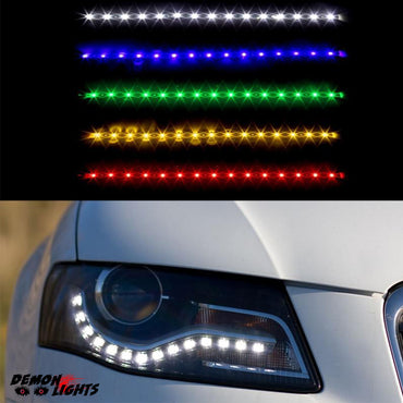 Universal Flexible LED Headlight Daylight Strip