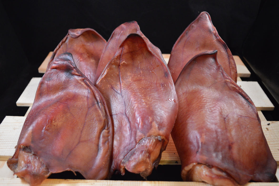 Fresh from the farm to your table or dish, our pig ears are BIG and provide critical fats needed in your pets diet.