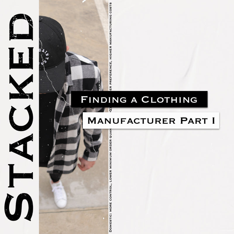 Finding a Clothing Wholesaler/Manufacturer (Part 1)