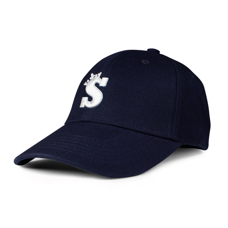 Baseball Cap (Blue/White)