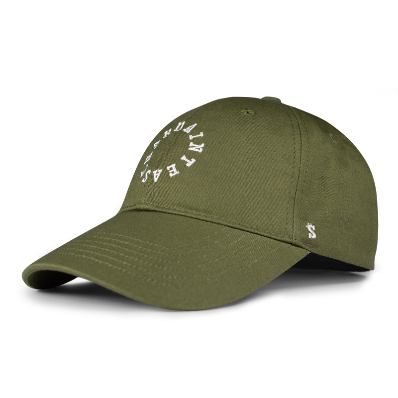 HAE Circle Logo (Olive/White)