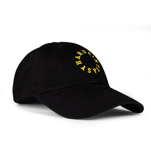 HAE Circle Logo (Black/Yellow)