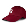 Baseball Maroon White
